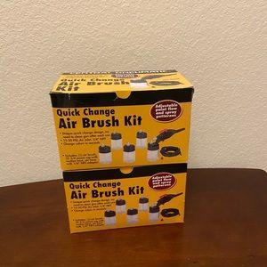 Quick Change Air Brush Kits